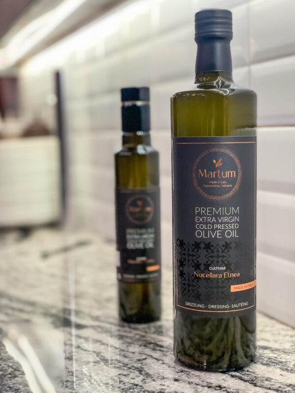 Martum olive oil glass bottle
