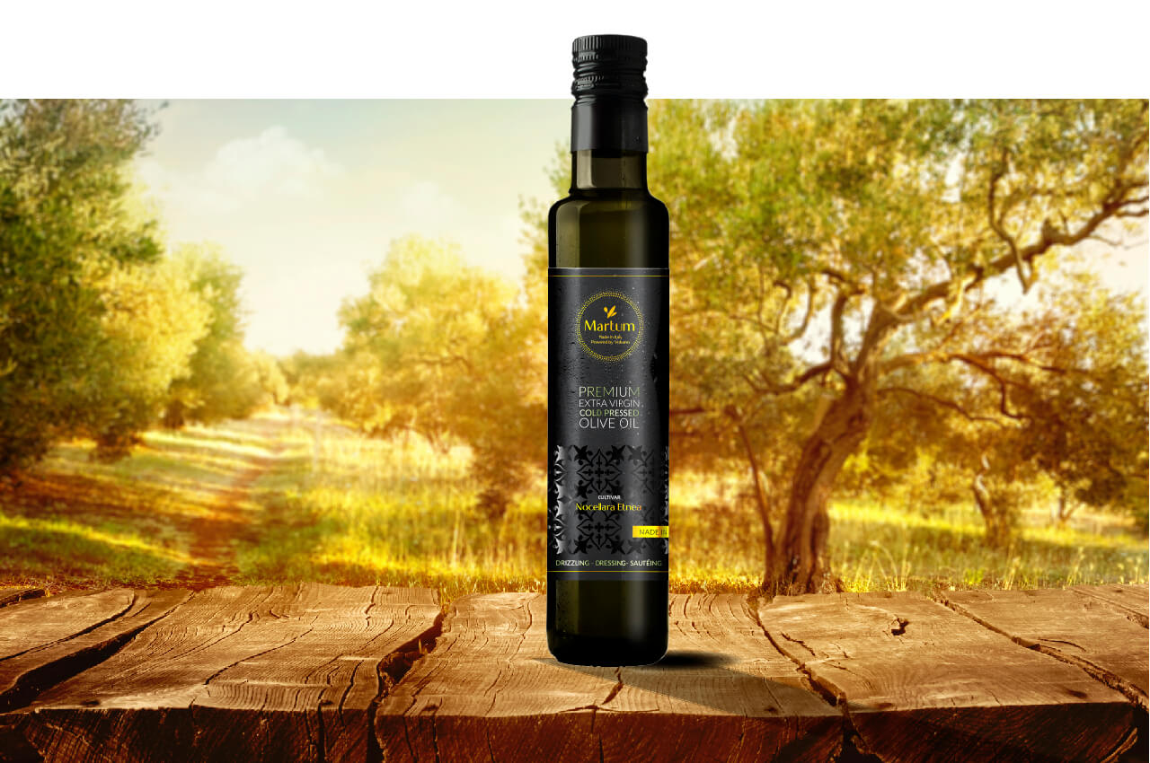 Marum olive oil in glass bottle 0,25l